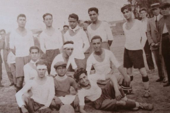 Recreativo de Huelva, Spain's oldest team, photographed in 1930.